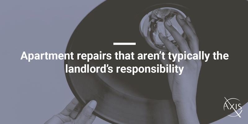 Apartment repairs