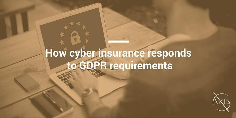 How cyber insurance responds to GDPR requirements